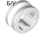 ! Б/У - Technic Bush 1/2 Smooth, White (4265c / 321231 / 4203585) - Б/У