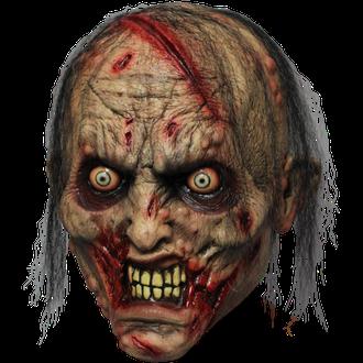 страшная маска, зомби, псих, ужас, страх, латексная, латекс, силиконовая, на голову, резиновая