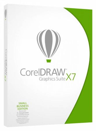 CorelDRAW Graphics Suite X7 - Small Business Edition CDGSX7RUDBSBE