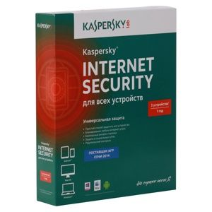 ПО KASPERSKY INTERNET SECURITY MULTI-DEVICE RUSSIAN EDITION. 3-DEVICE 1 YEAR BASE BOX (KL1941RBCFS)