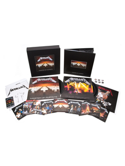 METALLICA Master of puppets DELUXE BOX SET