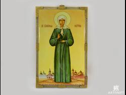 Святая Матрона Московская. Заказать икону.