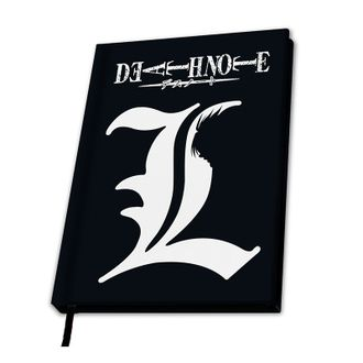 Записная книжка ABYstyle: DEATH NOTE: A5 Notebook 'L X4