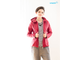 Red transformer jacket 3-in-1