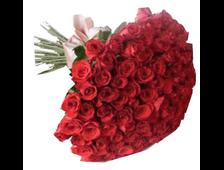 39 роз красных букет Взрыв Желаний