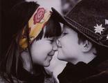 первая любовь 30х40
