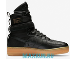 Nike SF AF1 Special Field Air Force 1 Black/Black-Gum