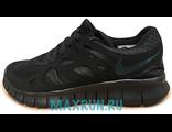 Кроссовки Nike Free Run черные