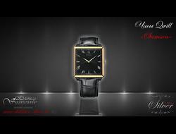 """Золотые мужские часы QWILL """"Samson"""""""