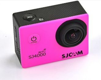 Экшн-камера SJCAM SJ4000 Sports HD DV WiFi розовая