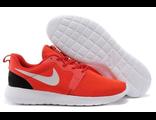 Кроссовки Nike Roshe Run мужские красные