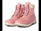 Ботинки Timberland PREMIUM розового цвета