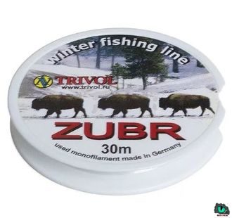 Леска Zubr Winter Fishing Line 0.18 mm. test 4.20kg. 30m