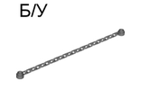 ! Б/У - Chain, 21 Links, Dark Bluish Gray (30104 / 4211035 / 4516456 / 4516717) - Б/У