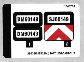 Sticker for Set 60149 - 29434/6174219, n/a (60149stk01)