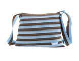 Подростковая сумка Zipit Medium Shoulder Bag голубой коричневый