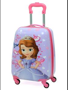 Детский чемодан на 4 колесах Принцесса София Дисней / Princess Sofia Disney - 2