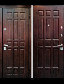 Новосёл 7 - Внешняя сторона входной двери