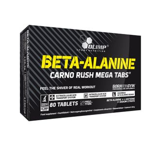 OLIMP Beta-Alanine Carno Rush Mega 80 таблеток