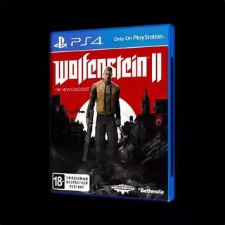 игра для PS4 Wolfenstein 2 the new colossus
