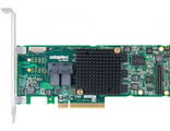 Adaptec ASR-8805 (PCI-E v3 x8, LP) SGL SAS 12G,RAID 0,1,10,5,6,50, 8port(int2*SFF8643),1Gb