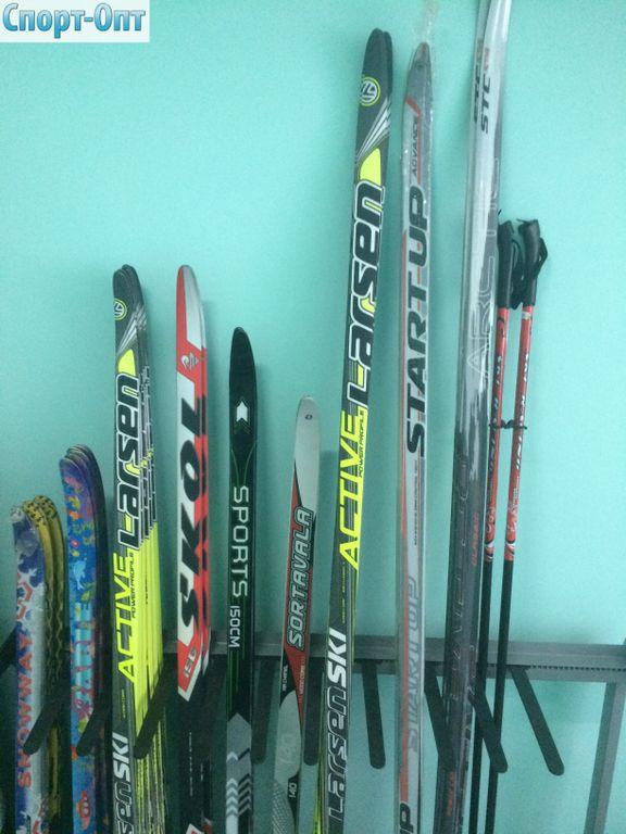 Лыжный комплект беговые лыжи, палки, крепления NN 75, ботинки натуральная  кожа STC step 759b2221cdf