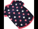 Флисовая кофта для собак Звезды