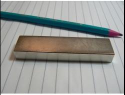 Неодимовый магнит блок-формы 80x20x10