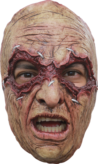 страшная маска, латекс, маньяк, убийца, ужасная, масочка, резиновая, силиконовая, шрамы, ghoulish