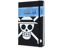 Блокнот Moleskine LIMITED EDITION ONE PIECE (в линейку) large, черный