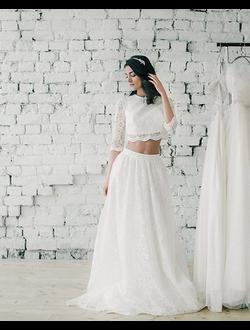 Свадебное платье кроп-топ Verna