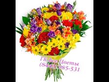 Букет цветов 7 ярких чудес