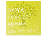 ROYAL FOREST - Carob Milk Bar миндаль