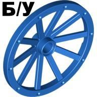 ! Б/У - Wheel Wagon 43mm, Blue (33211 / 4129867 / 4240787) - Б/У