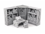 Dark Magister reading corner (unpainted)