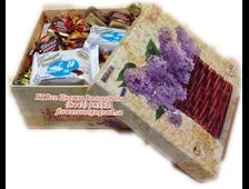 Сладкое Ассорти-1 кг шоколадных конфет в подарочной коробке