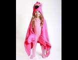 Детское полотенце с капюшоном Zoocchini Фламинго Френни