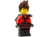 Kai - The LEGO Ninjago Movie, Hair, Pearl Dark Gray Scabbard, n/a (njo360)