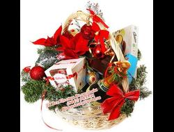 Новогодняя подарочная корзина Магия Нового Года