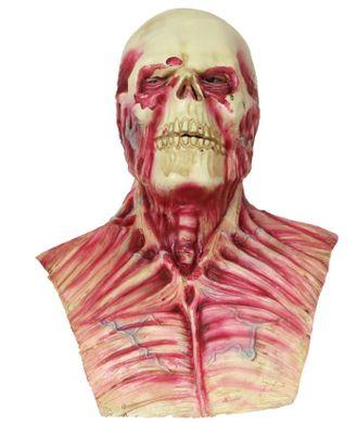 зомби, скелет, череп, маска, латекс, на голову, хелоуин, halloween, силиконовая, метвец, ужас, страх