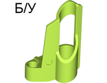! Б/У - Technic, Panel Fairing # 6 Small Short, Large Hole, Side B, Lime (32528 / 4501005) - Б/У
