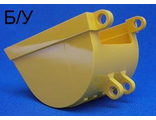 ! Б/У - Technic, Digger Bucket 8 x 6, Yellow (4700) - Б/У