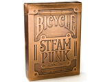игральные карты, покер, poker,  bicycle steam punk, gold, картишки, байсикл, голд, стимпанк, игра