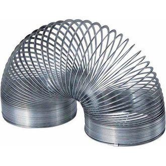 СЛИНКИ МЕТАЛЛИЧЕСКАЯ, slinky, слинки, серебряная слинки, металл пружинка, из металла, пружина, toy
