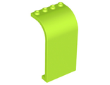 Panel 3 x 4 x 6 Curved Top, Lime (2571 / 6259066)