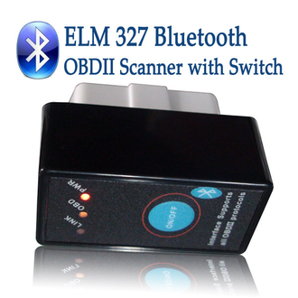 Сканер ELM 327 Bluetooth v2.1 с кнопкой