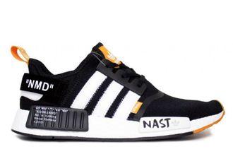 dae1d6e64f74 Кроссовки Adidas NMD R1 x Off White Nasty Черные купить   Адидас Нмд ...