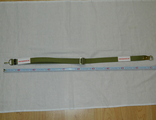 Russian-Soviet Army Saiga/AK-74 canvas gun sling two snap locks GREEN