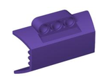 Technic, Panel Engine Block Half / Side Intake, Dark Purple (61069 / 4518845 / 4569911)