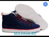 Кроссовки Adidas Zx-750 темно-синие